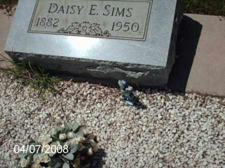 SIMS, DAISY - Gila County, Arizona | DAISY SIMS - Arizona Gravestone Photos