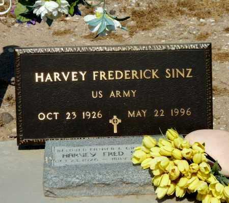 SINZ, HARVEY FREDERICK - Gila County, Arizona   HARVEY FREDERICK SINZ - Arizona Gravestone Photos