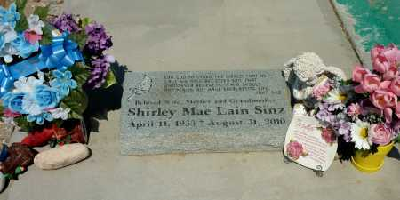 SINZ, SHIRLEY  MAE - Gila County, Arizona | SHIRLEY  MAE SINZ - Arizona Gravestone Photos