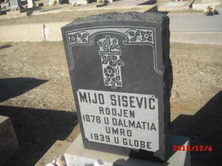 SISEVIC, MIJO - Gila County, Arizona | MIJO SISEVIC - Arizona Gravestone Photos