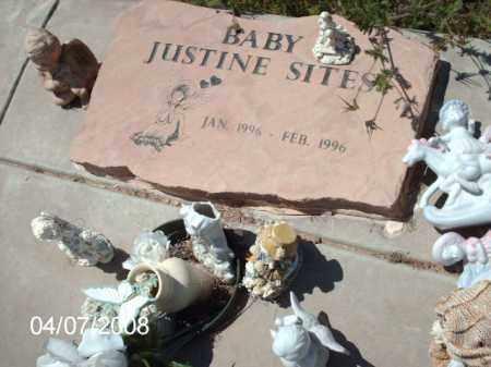 SITES, JUSTINE - Gila County, Arizona | JUSTINE SITES - Arizona Gravestone Photos
