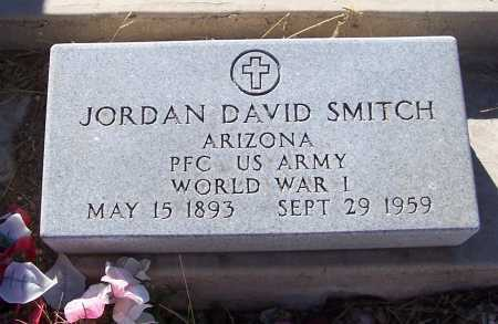 SMITCH, JORDAN DAVID - Gila County, Arizona | JORDAN DAVID SMITCH - Arizona Gravestone Photos