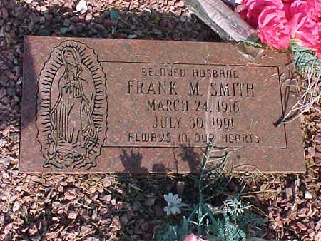 SMITH, FRANK  M. - Gila County, Arizona | FRANK  M. SMITH - Arizona Gravestone Photos