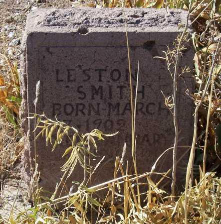 SMITH, LESTON - Gila County, Arizona   LESTON SMITH - Arizona Gravestone Photos