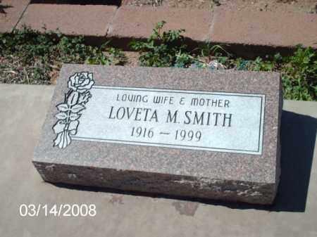 SMITH, LOVETA - Gila County, Arizona | LOVETA SMITH - Arizona Gravestone Photos
