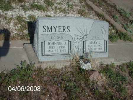 SMYERS, JOHNNIE J. - Gila County, Arizona | JOHNNIE J. SMYERS - Arizona Gravestone Photos