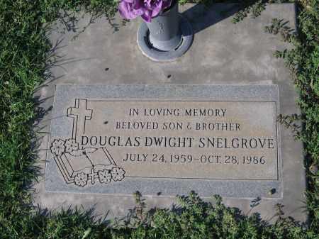 SNELGROVE, DOUGLAS DWIGHT - Gila County, Arizona   DOUGLAS DWIGHT SNELGROVE - Arizona Gravestone Photos