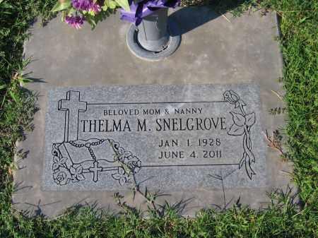 SNELGROVE, THELMA M. - Gila County, Arizona | THELMA M. SNELGROVE - Arizona Gravestone Photos