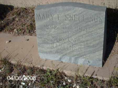 SNELLINGS, MARRY E. - Gila County, Arizona | MARRY E. SNELLINGS - Arizona Gravestone Photos