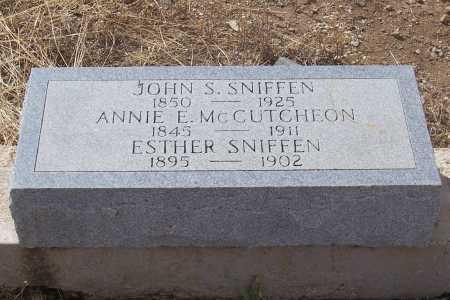 DAWES MCCUTCHEON, ANNIE E. - Gila County, Arizona | ANNIE E. DAWES MCCUTCHEON - Arizona Gravestone Photos