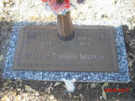 SOLBERG, WILLIAM T. - Gila County, Arizona | WILLIAM T. SOLBERG - Arizona Gravestone Photos