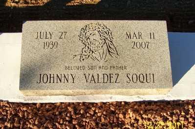 SOQUI, JOHNNY VALDEZ - Gila County, Arizona   JOHNNY VALDEZ SOQUI - Arizona Gravestone Photos