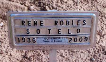SOTELO, RENE R. - Gila County, Arizona   RENE R. SOTELO - Arizona Gravestone Photos