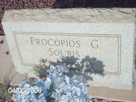 SOURIS, PROCOPIOS G. - Gila County, Arizona   PROCOPIOS G. SOURIS - Arizona Gravestone Photos