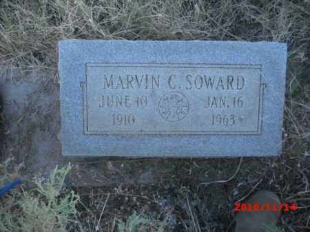 SOWARD, MARVIN C. - Gila County, Arizona | MARVIN C. SOWARD - Arizona Gravestone Photos