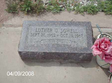 SOWELL, LUTHER O. - Gila County, Arizona | LUTHER O. SOWELL - Arizona Gravestone Photos
