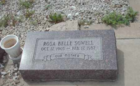 SOWELL, ROSA BELLE - Gila County, Arizona | ROSA BELLE SOWELL - Arizona Gravestone Photos