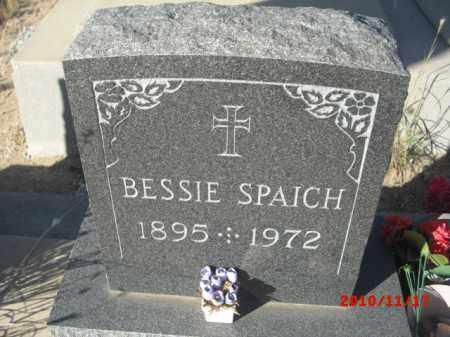 SPAICH, BESSIE - Gila County, Arizona | BESSIE SPAICH - Arizona Gravestone Photos