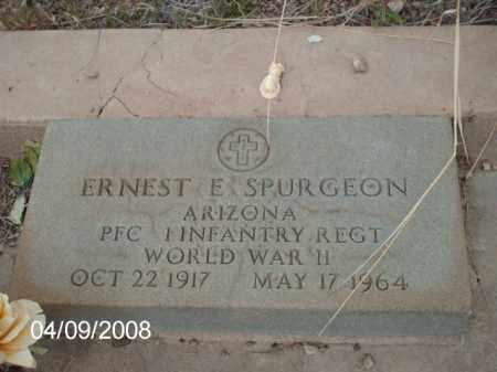 SPURGEON, ERNEST E. - Gila County, Arizona | ERNEST E. SPURGEON - Arizona Gravestone Photos