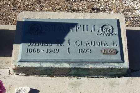 STANFILL, CLAUDIA E. - Gila County, Arizona   CLAUDIA E. STANFILL - Arizona Gravestone Photos
