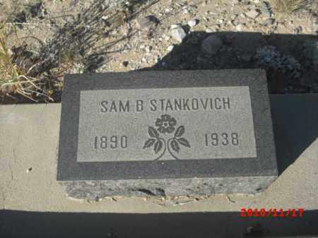 STANKOVICH, SAM B. - Gila County, Arizona | SAM B. STANKOVICH - Arizona Gravestone Photos