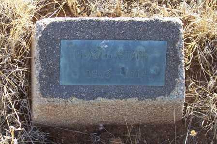 STARR, CHAS H. - Gila County, Arizona   CHAS H. STARR - Arizona Gravestone Photos