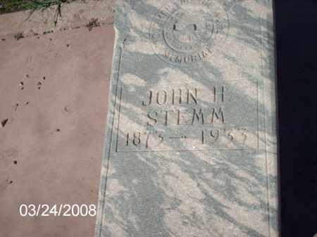 STEMM, JOHN - Gila County, Arizona | JOHN STEMM - Arizona Gravestone Photos