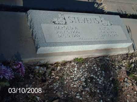 STEVENS, HAROLD - Gila County, Arizona | HAROLD STEVENS - Arizona Gravestone Photos