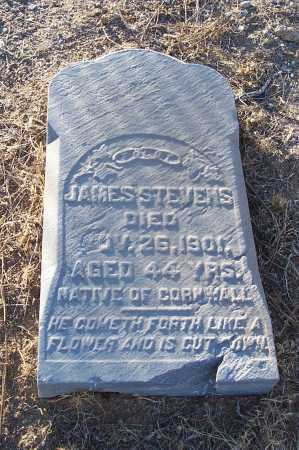STEVENS, JAMES - Gila County, Arizona | JAMES STEVENS - Arizona Gravestone Photos