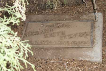STEVENS, RICHARD KEITH - Gila County, Arizona | RICHARD KEITH STEVENS - Arizona Gravestone Photos