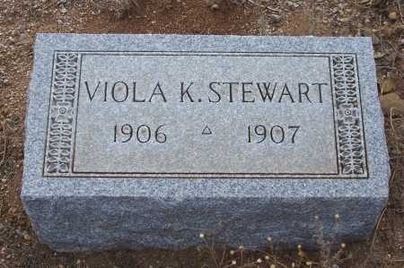 STEWART, VIOLA K. - Gila County, Arizona | VIOLA K. STEWART - Arizona Gravestone Photos