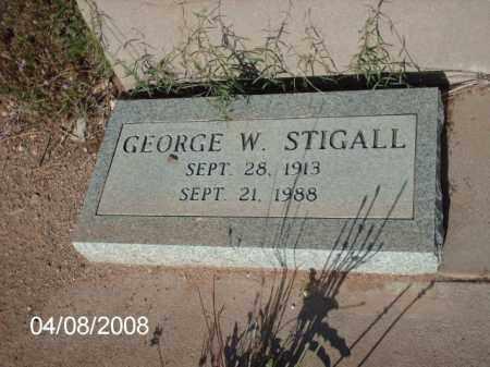 STIGALL, GEORGE W. - Gila County, Arizona   GEORGE W. STIGALL - Arizona Gravestone Photos