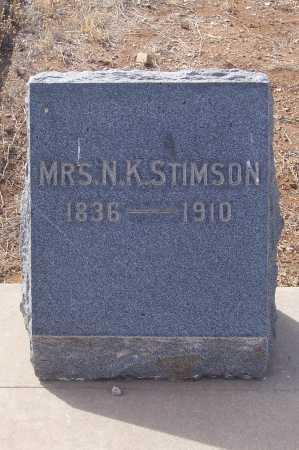 STIMSON, M.K. - Gila County, Arizona | M.K. STIMSON - Arizona Gravestone Photos