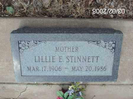 STINNETT, LILLIE - Gila County, Arizona | LILLIE STINNETT - Arizona Gravestone Photos
