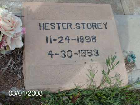 STOREY, HESTER - Gila County, Arizona | HESTER STOREY - Arizona Gravestone Photos