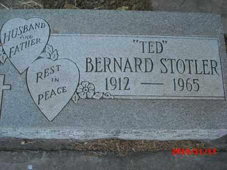 "STOTLER, BERNARD  ""TED"" - Gila County, Arizona | BERNARD  ""TED"" STOTLER - Arizona Gravestone Photos"