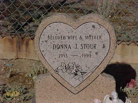 STOUT, DONNA  J. - Gila County, Arizona | DONNA  J. STOUT - Arizona Gravestone Photos