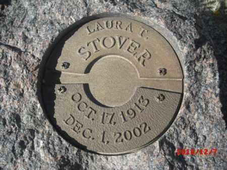 STOVER, LAURA T. - Gila County, Arizona | LAURA T. STOVER - Arizona Gravestone Photos