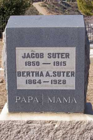 SUTER, BERTHA A. - Gila County, Arizona   BERTHA A. SUTER - Arizona Gravestone Photos