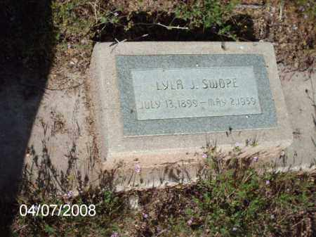 SWOPE, LYLA J. - Gila County, Arizona | LYLA J. SWOPE - Arizona Gravestone Photos