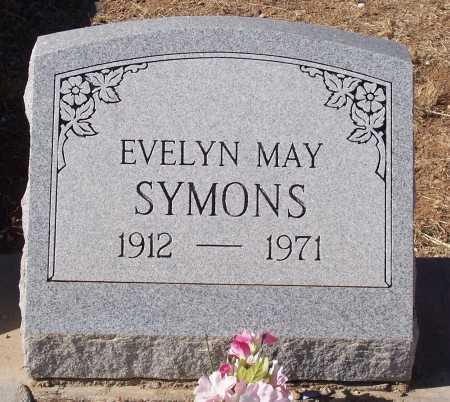SYMONS, EVELYN MAY - Gila County, Arizona | EVELYN MAY SYMONS - Arizona Gravestone Photos