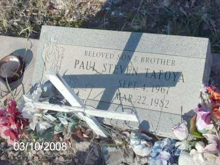 TAFOYA, PAUL STEVEN - Gila County, Arizona | PAUL STEVEN TAFOYA - Arizona Gravestone Photos