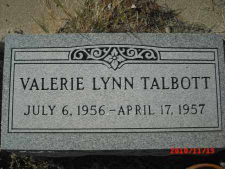 TALBOTT, VALERIE LYNN - Gila County, Arizona | VALERIE LYNN TALBOTT - Arizona Gravestone Photos