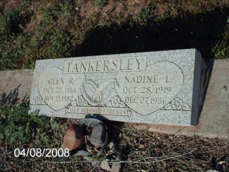TANKERSLEY, NADINE L. - Gila County, Arizona   NADINE L. TANKERSLEY - Arizona Gravestone Photos