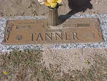 TANNER, LOUISE ANNE - Gila County, Arizona | LOUISE ANNE TANNER - Arizona Gravestone Photos