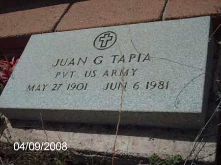 TAPIA, JUAN G. - Gila County, Arizona   JUAN G. TAPIA - Arizona Gravestone Photos