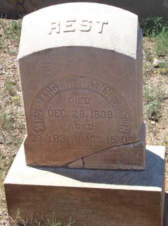 TATTON, MARGARET ANN - Gila County, Arizona | MARGARET ANN TATTON - Arizona Gravestone Photos