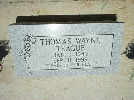 TEAGUE, THOMAS WAYNE - Gila County, Arizona   THOMAS WAYNE TEAGUE - Arizona Gravestone Photos