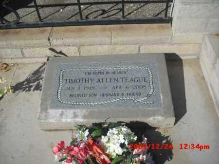 TEAGUE, TIMOTHY - Gila County, Arizona | TIMOTHY TEAGUE - Arizona Gravestone Photos