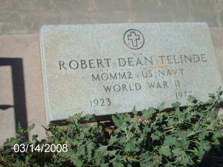 TELINDE, ROBERT - Gila County, Arizona | ROBERT TELINDE - Arizona Gravestone Photos